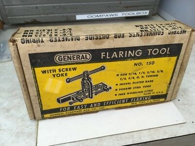 Vintage General Hardware No.150 Flaring Tool Kit With Original Box Made In USA