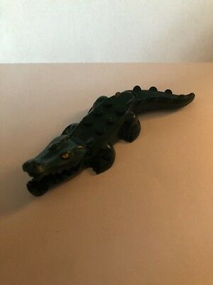 Alligator 6026c01 Lego Animal Crocodile in Dark Green