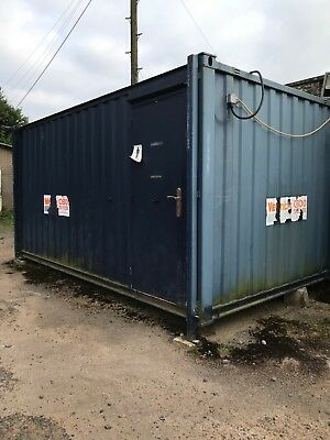 16 X 9 Jackleg Anti Vandal Container Site Toilet Block 2+2 Gents + Ladies