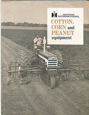McCormick International Cotton, Corn and Peanut equipment and A554 tractor sales
