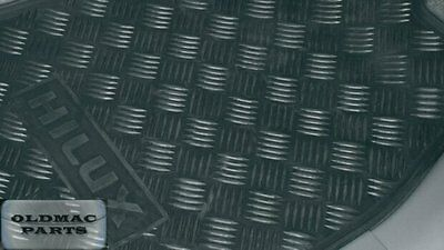 Brand New Genuine Toyota Hilux Front Rubber Floor Mats Sep 2011 > Aug 2015