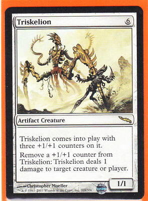 MTG Mirrodin Rare card 1 x TRISKELION  269/306 Artifact Never played  AS NEW