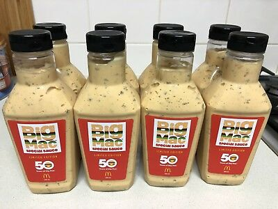 McDonald's 500ml Big Mac Sauce - 50 Years Limited Edition - 100,000 Release