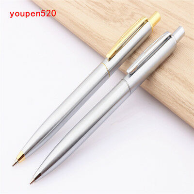 Luxury quality Jinhao  Stainless steel Business office Medium nib Ballpoint Pen