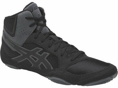 NEW Asics Boxing Wrestling Boots Shoes - SNAPDOWN 2 Black Carbon NEW DESIGN