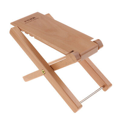 Portable Wooden Guitar Footrest Foot Stool Stand Stage Accessory Wood