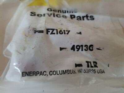 ENERPAC FZ1617 Hose Fitting, Nipple, NPT Male 3/8 x 3/8  10,000 PSI - NEW IN BAG