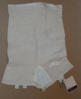 VINTAGE 1960s GIRDLE PANTY! UNUSED WITH TAG! NOS/STRETCH LYCRA/GARTERS! 28 WAIST