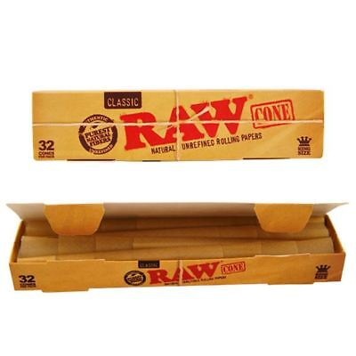 Raw Classic Cones King Size Pre Rolled Cone 32 Pack