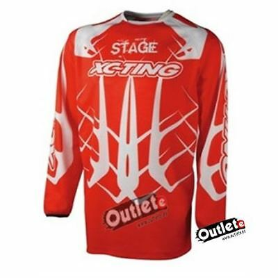 Camiseta Xc-Ting Stage 3 Roja Off- Road