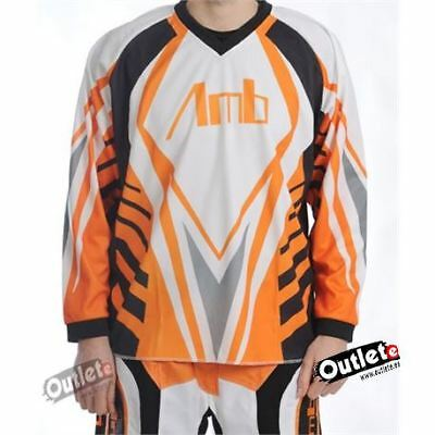Camiseta Enduro Amb Off Road Naranja