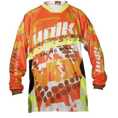 "Camiseta Cross Unik ""mx01"" Naranja/fluor"