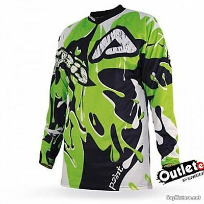 Camiseta Acerbis Mx Paint Enduro-Atv Verde