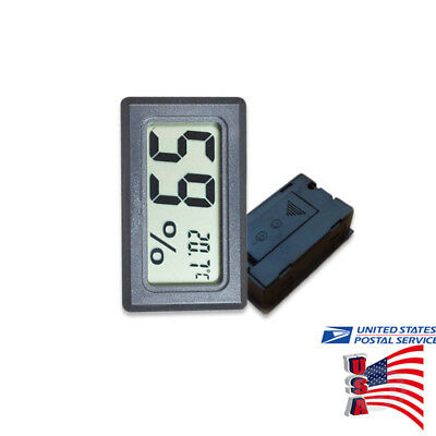 US Digital LCD Indoor Temperature Humidity Meter Thermometer Hygrometer 5pcs