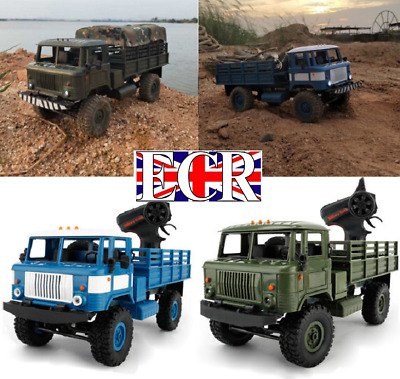 Wpl 1:16 Scale 2.4G Rc 4X4 Military Army Truck Fwd Tank Compat. Henglong Vehicle