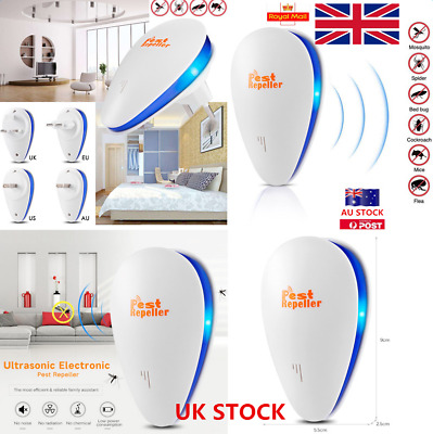 Ultrasonic Pest Repeller Electronic Control Rejector Mouse Rat Mosquito killer