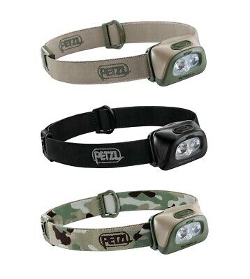 Petzl Tactikka + Led Headlamp Red / White Led 350Lm Hybrid Concept Ipx4
