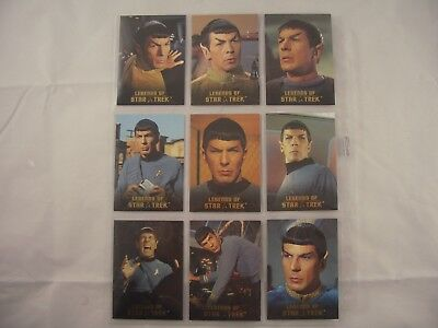 Legends of Star Trek Spock L1-L9 1567/1701