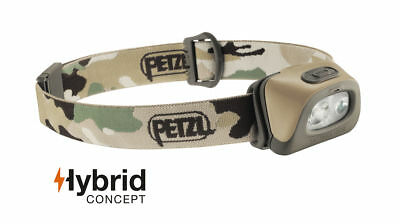 Petzl Tactikka + Rgb Led Headlamp Red / White Led 250Lm Hybrid Concept Ipx4