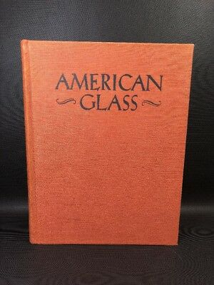"""""""American Glass"""" Hardcover Book By Crown Publishing George & Helen McKearin 10P"""