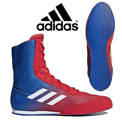 adidas Box Hog Plus Mens Lightweight Boxing Boots Trainers Retro Sneakers DA9896