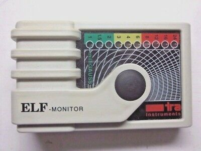 ELF monitor TRA extremely low frequency electromagnetic radiation monitor tested