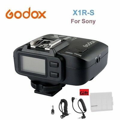 Godox X1R-S TTL 2.4G Wireless Receiver for Sony X1T-S Trigger Transmitter +Gift