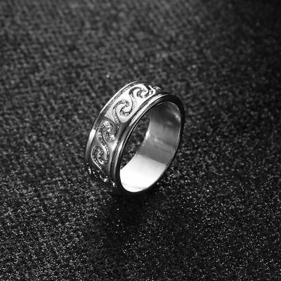 Surf Wire Accessories Jewelry Knuckle Stainless Steel Wave Ring