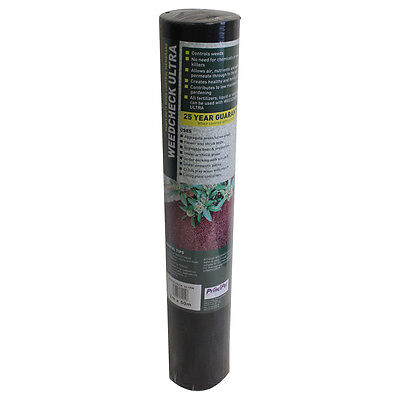 Weed Control Fabric Permeable Sheet 1x14m Heavy Duty Ground Membrane Weedcheck