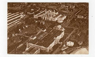 BRITISH EMPIRE EXHIBITION FROM THE AIR: Wembley 1924 postcard (JH3046)