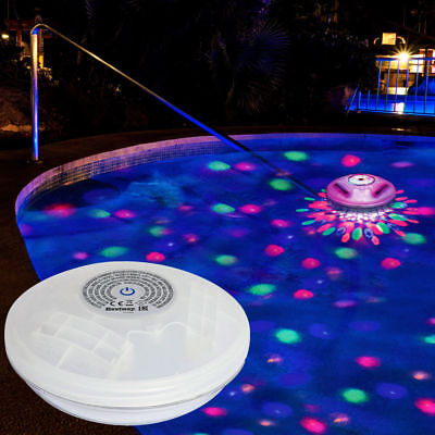 Bestway Floating Multicolour LED Light Swimming Pool Spa Hot Tub Bath Lighting