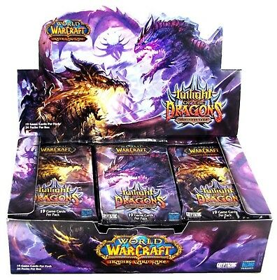 WOW Box Twilight of the Dragons Crepuscolo dei Draghi 24 Packs FactorySealed ITA