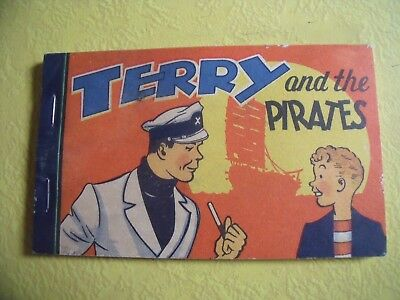 1935 Terry and the Pirates Variant back Premium