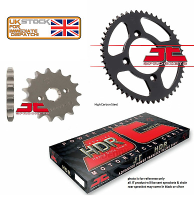 Honda CB125 F (GLR125) (2015 to 2017) JT Heavy Duty Chain and Sprocket Kit