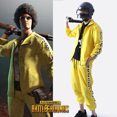 HZM PUBG Coat Playerunknown/'s Battlegrounds Cosplay Costume Leather Trench Coat