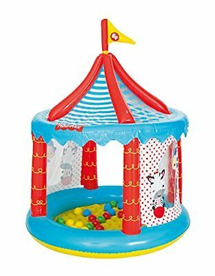 Fisher Price Inflatable Circus Ball Pit tent Kids Children Fun Play Game Toy Set