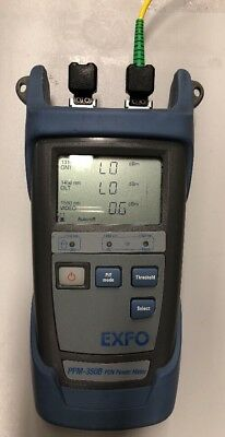 EXFO PPM-350B PON Power Meter w/SC or FC Connectors & Power Supply