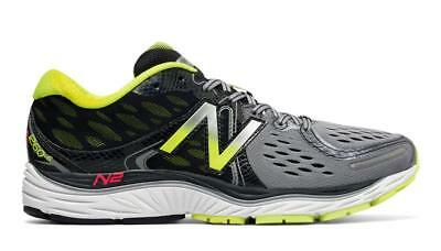7830c93a6c9aa NEW BALANCE MEN'S 1260 V6 Running Shoes - Grey/Firefly (M1260GY6 ...