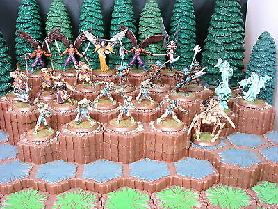 Heroscape Wave 6, Dawn of Darkness, Complete - Zombies, Heavy Gruts & More