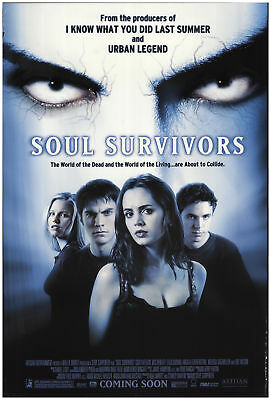 Soul Survivors 2001 27x40 Orig Movie Poster FFF-69705 Rolled Fine, Very Good