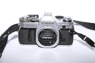 Canon AE-1 35mm Camera Body - TESTED - 8.5 out of 10 Condition!