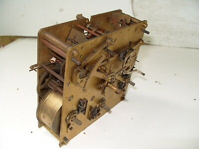 Clock Parts  Kienzle Westminster  Movement  Springs  Ok Back  Fixing On Case