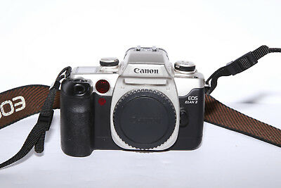 Canon EOS Elan II 35mm Film Camera - TESTED - 9.5 out of 10 Condition!