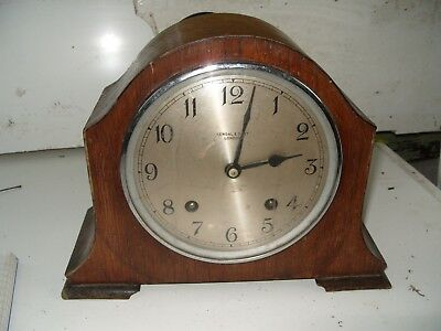 Clock Parts Garrard  Clock  Kendal  & Dent London  For  Spares  Repair