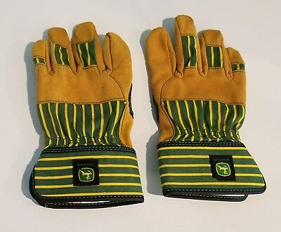 John Deere Tractor Youth Garden Yard Work Farmer Gloves - LP42429