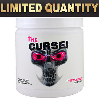 Cobra Labs  The Curse  Pre Workout - 50 servings - CHOOSE FLAVORS