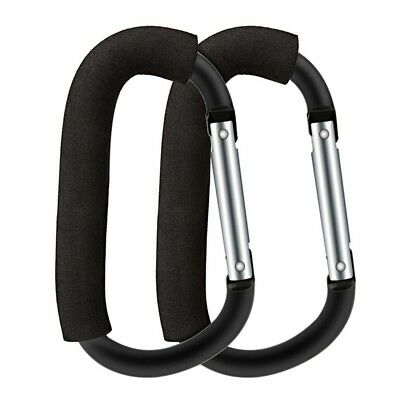 Stroller Hook Set for Pram Multi Purpose Heavy Duty D-Ring Clip for Hanging Y4I4
