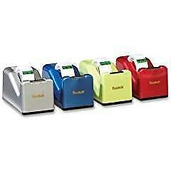Scotch Dispenser For Desk With 1 Roll Magic Tape Color Of Dispenser May Vary