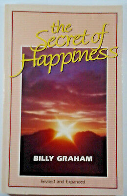 The Secret Of Happiness By Billy Graham (Paperback,1985)