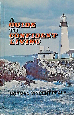 A Guide To Confident Living By Norman Vincent Peale (Hardcover,1977)